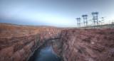 Colorado River from Glen Canyon Dam