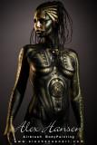 tech tribal woman