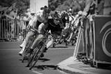 Cycling in black and white