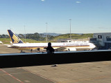 Auckland Airport - Singapore Airlines 777