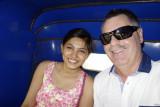 Suhi Sinha and me - Suhi volunteered to take me shopping.  Awesome!