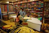Suhi shopping for silks