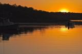 Sinking Sun Sunset