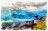 Triesenberg Watercolor