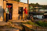 Dawn Light with Fishermen