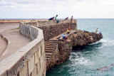 Fishing from the Malecon