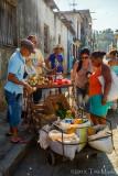 Backlit Market