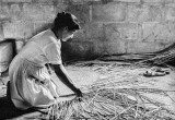 Weaving a Straw Mat