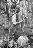 Juana Firing Pots, II