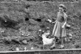 Deisy with Chickens