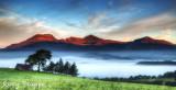 Moelwyn range sunrise Sept 2013
