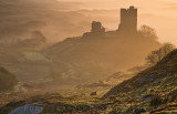 Dawn at Dolwyddelan castle
