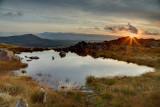 A small rock pool between Llyn Iwerddon and Moel Druman