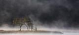Mist on Llyn Dinas