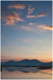 Ynys sunrise and the Moelwyn range