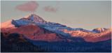 Snowdon sunset Jan 2015