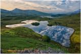 Llyn Dywarchen high viewpoint