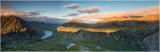 Ogwen valley panoramic