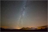 Milky Way over Blaenau Ffestiniog