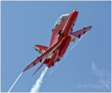 The Red Arrows at RAF Valley
