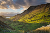 View from Clogwyngarreg towards Llyn Nantlle