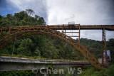 Old railroad bridge in Padang