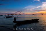 Fisherman at Nirwana Beach