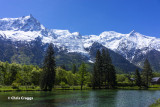 Mont Blanc from Cham