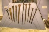 Dublin-National Museum of Archeology Rapier Heads from 1400-900 BC