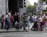 Dublin: Trinity College Sreet Scene