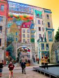 La Fresque des Quebecois, Quebec City, Canada