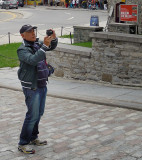 BEWARE: The Boss Man is haunting in Quebec City with his toy camera!
