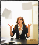Is my secretary unhappy...?  :-(