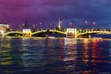 Birzhevoy Most, Malaya Neva River,St. Petersburg
