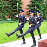 Changing of the Guards at the Kremlin in Moscow