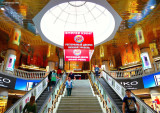 Okhotny Ryad shopping mall in Moscow, Russia