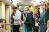 Moscow underground life