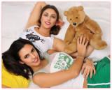 Teddy bear, you are my teddy bear......
