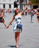 Dancing in Piazza San Marco,Venice
