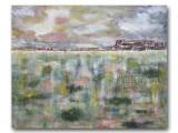 Southwest Landscape acrylic on canvas 24x30