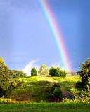 Rainbow Over the HIgh Knoll