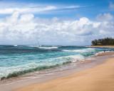 Wind Surfers. Oahu.