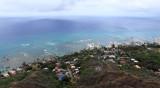 Honolulu from Diamond Head.