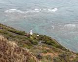 Diamond Head Lighthouse. Honolulu.