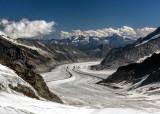 Aletsch Glacier.
