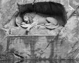 Lion Statue. Lucerne.