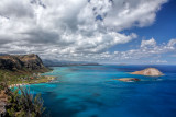 View NW from Makapu'u Point