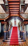 Center Stairway. Governor's Mansion.