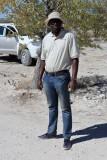 Elvis Nghimutina. Ultimate Safaris Nature Guide. Road Scholar Group Leader.