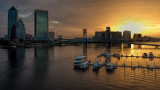 JAXscape:  Partly Cloudy Sunrise